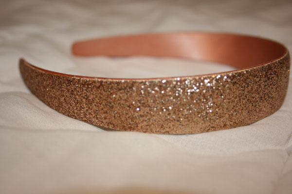 Glittery-headband