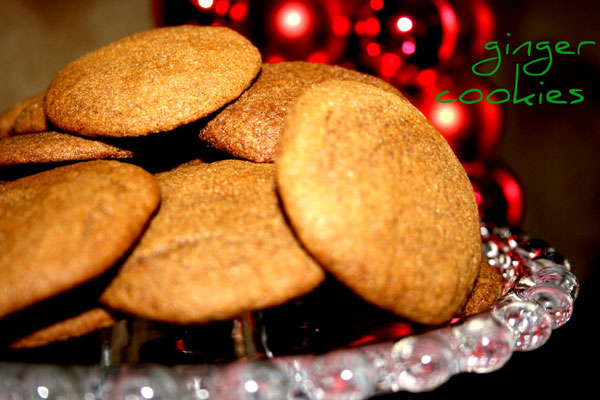 Ginger-cookies