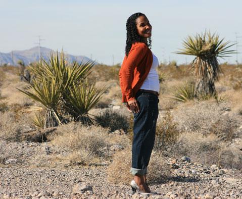 Desert-girl